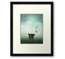 Coming home for dinner Framed Print
