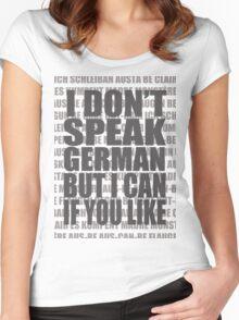 Scheiße 1 Women's Fitted Scoop T-Shirt