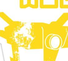 Borderlands 2 Claptrap Wub Wub Wub Sticker