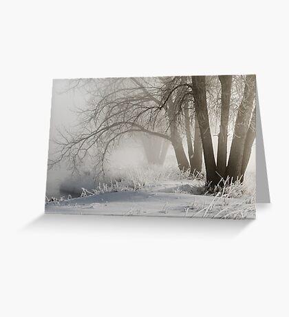 My Secret Winter Greeting Card