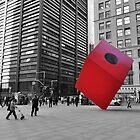 Red Cube by Haz Preena