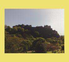 Edinburgh Castle Baby Tee