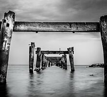 Remnants of the Past, Clifton Springs by Julie Begg
