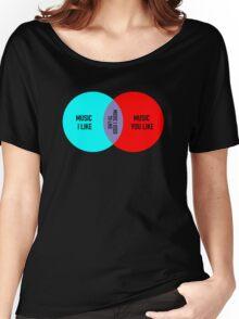 Elitist Music Venn Diagram Women's Relaxed Fit T-Shirt