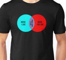 Elitist Music Venn Diagram Unisex T-Shirt