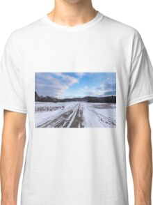 Winter in Canada 2015 Classic T-Shirt