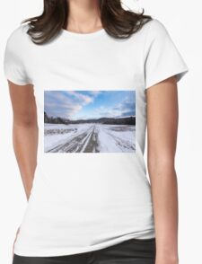 Winter in Canada 2015 Womens Fitted T-Shirt
