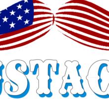 The Great American Mustache Ride Sticker