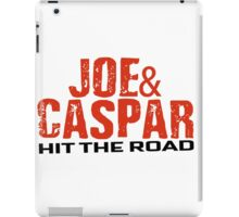 Joe & Caspar Hit The Road iPad Case/Skin