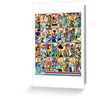 G.I. Joe in the 80s! (Version B) Greeting Card