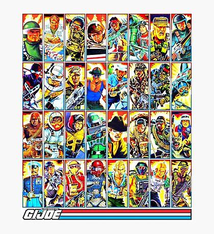 G.I. Joe in the 80s! (Version B) Photographic Print