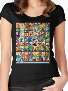 G.I. Joe in the 80s! (Version B) Women's Fitted Scoop T-Shirt