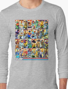 G.I. Joe in the 80s! (Version B) Long Sleeve T-Shirt