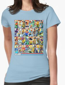 G.I. Joe in the 80s! (Version B) Womens Fitted T-Shirt