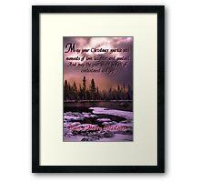 Card #44778U Framed Print