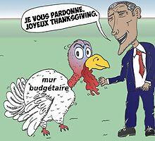 OBAMA pardonne un dinde de Thanksgiving by Binary-Options