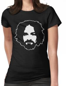 Charles Manson Womens Fitted T-Shirt