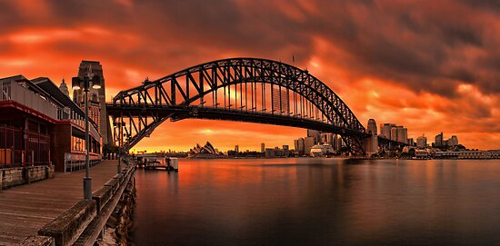 Milsons Point  by Arfan Habib
