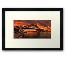 Milsons Point  Framed Print
