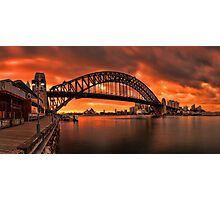 Milsons Point  Photographic Print