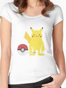 PokéDeki Women's Fitted Scoop T-Shirt