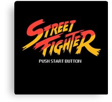 Street Fighter - Arcade Canvas Print