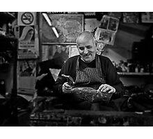 Freddie -- The Cobbler Rabat Malta Photographic Print