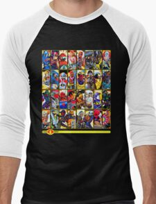 G.I. Joe in the 80s!  Cobra Edition! (Version B) Men's Baseball ¾ T-Shirt