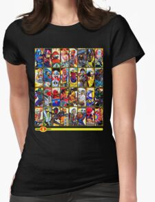 G.I. Joe in the 80s!  Cobra Edition! (Version B) Womens Fitted T-Shirt