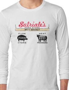 Satriale's Distressed Tee Long Sleeve T-Shirt