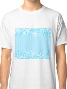 Snowflake Edges Classic T-Shirt