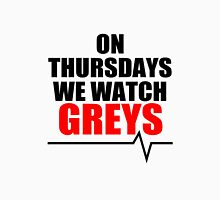 ON THURSDAYS WE WATCH GREY'S - For light Unisex T-Shirt