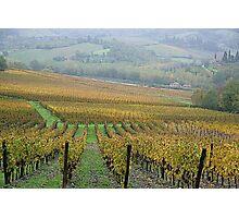 Greve in Chianti - Toscana - Italy Photographic Print