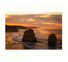 Dawn - Great Ocean Road Art Print