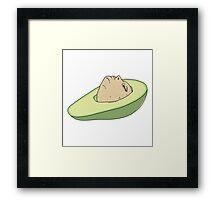 Man of Avocado Framed Print