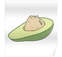 Man of Avocado Poster