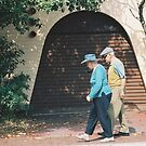 Old Couple Stroll by Ben Reynolds