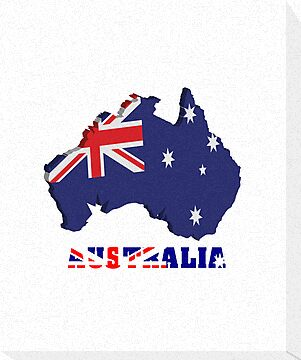Australia map in 3d by nadil