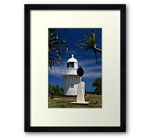Fingal Head Lighthouse Framed Print