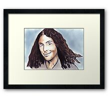 Weird Al Framed Print