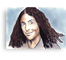 Weird Al Canvas Print