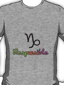 Capricorn Upfront T-Shirt