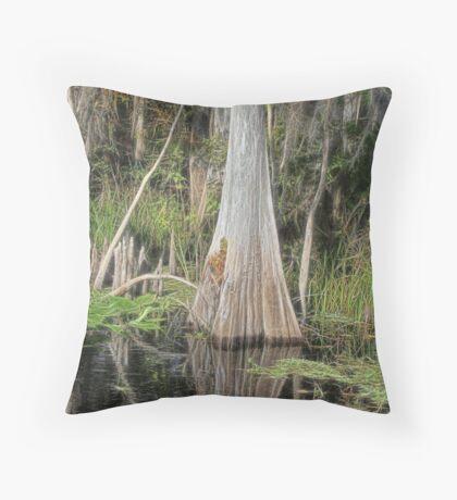 Cypress Beauty Throw Pillow