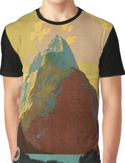 Vintage poster - New Zealand Graphic T-Shirt
