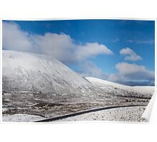 First Snow on Cairngorms Plateau Poster