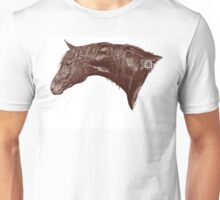 Red Frontier Thoroughbred Twigabelle Graphite Drawing Unisex T-Shirt