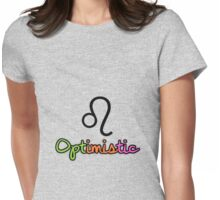 Leo Upfront Womens Fitted T-Shirt