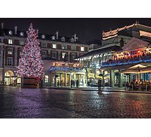 christmas in covent garden Photographic Print