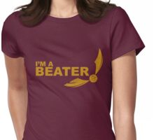 I'm a Beater - Yellow ink Womens Fitted T-Shirt