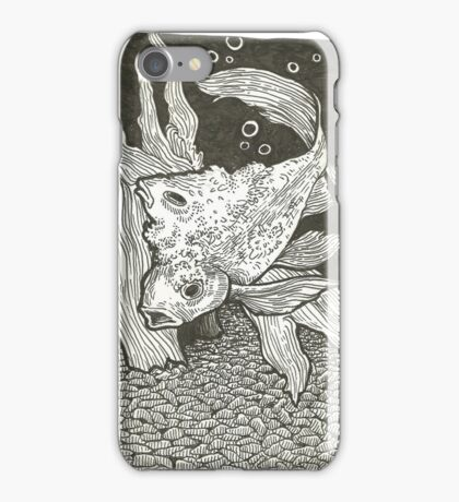 Osmosis Goldfish iPhone Case/Skin